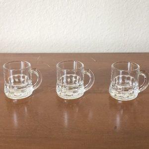 Beer Stein Shot Glass Set